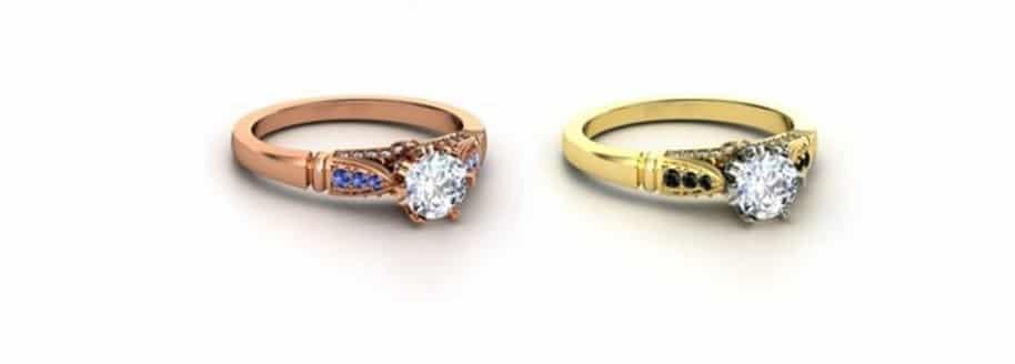 Les anneaux de mariage Harry Potter