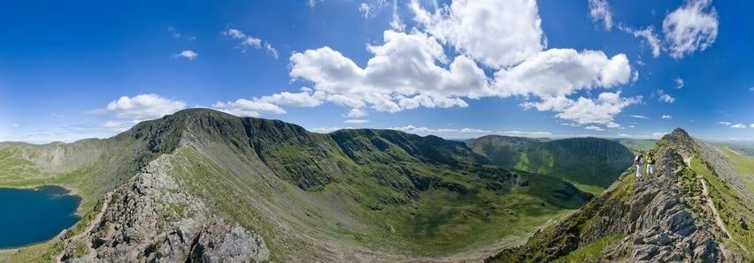 Une photo de paysage à 360°