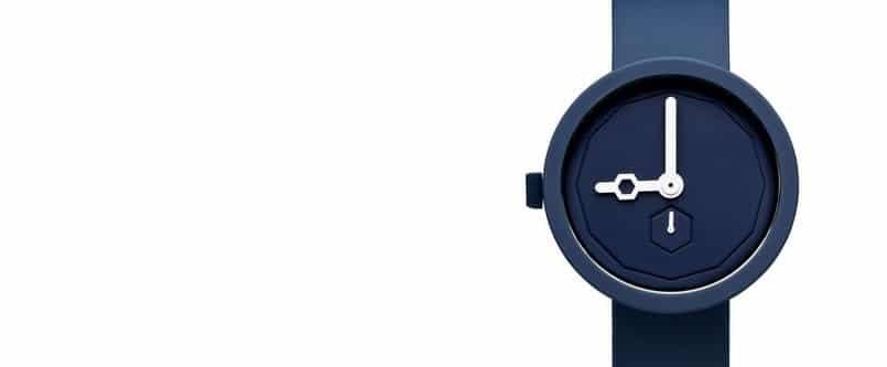 Une montre minimaliste à cadran