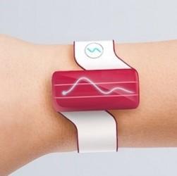 Une montre connectée au corps