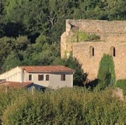 Le petit village de Collobrieres dans le Var