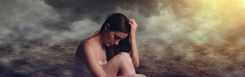 L'image de la femme triste