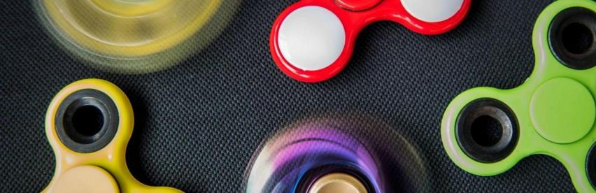 Différents modèles de hand spinner