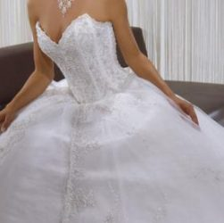 Une robe de mariée tendance