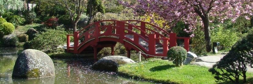 Pont de jardin japonais le jardin zen japonais en images for Pont jardin zen