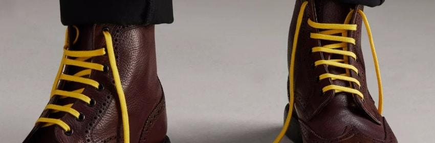 Des lacets de couleur