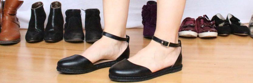 Paires de chaussures de fille