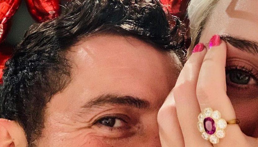 Fiançailles Katy Perry
