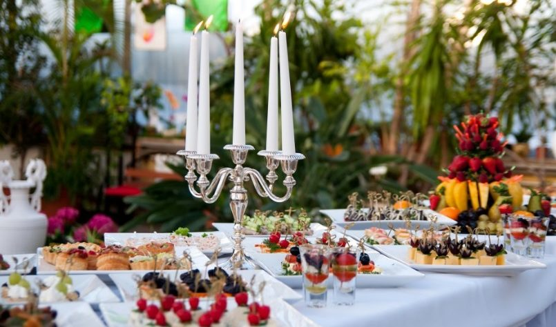 Organiser son repas de mariage