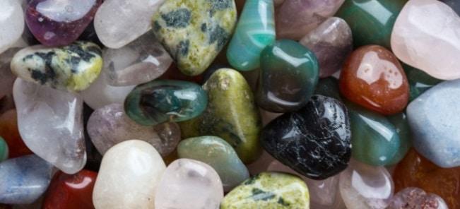 Des pierres utilisées en lithothérapie